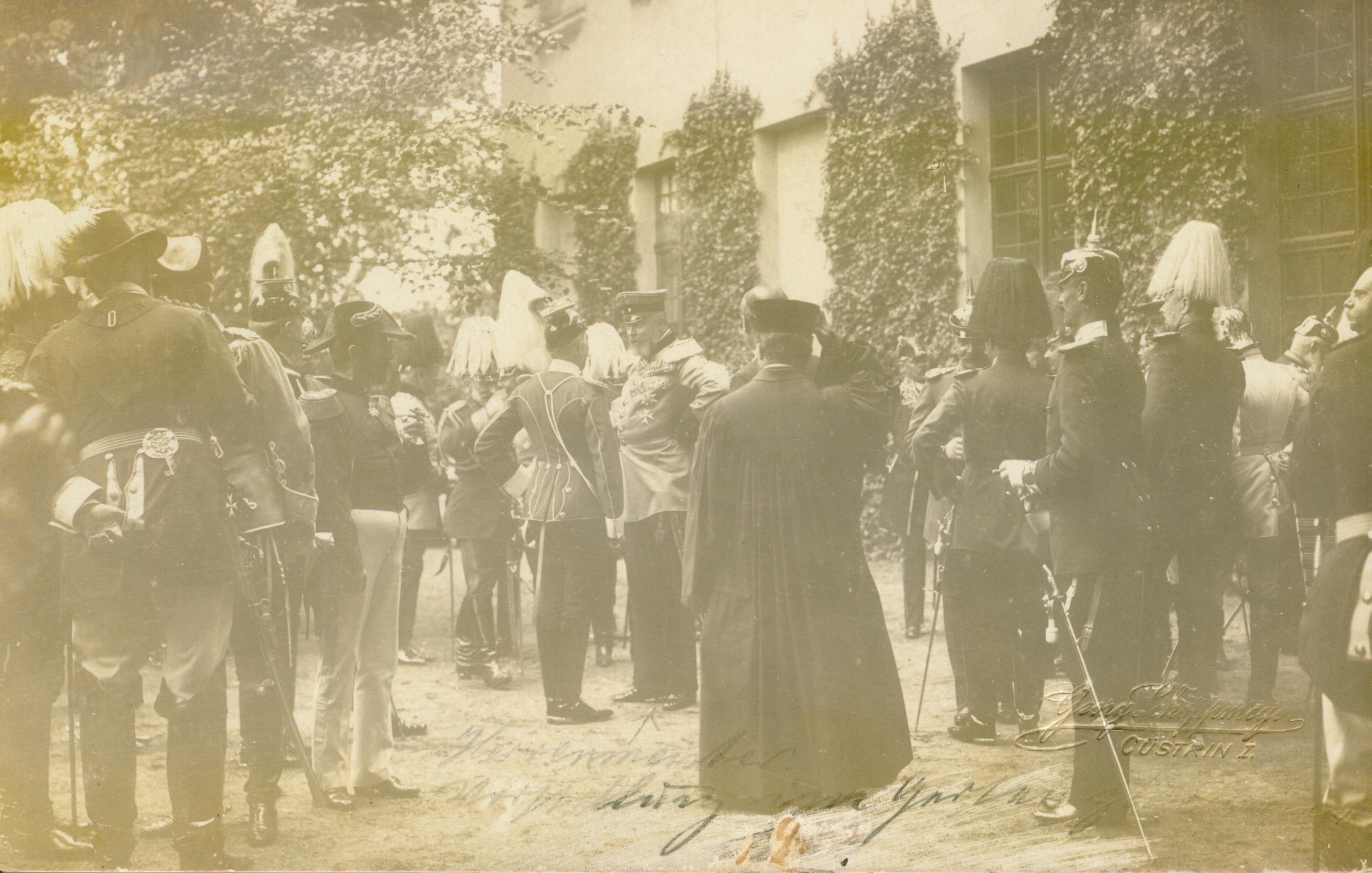 Słońsk-spotkanie z cesarzem