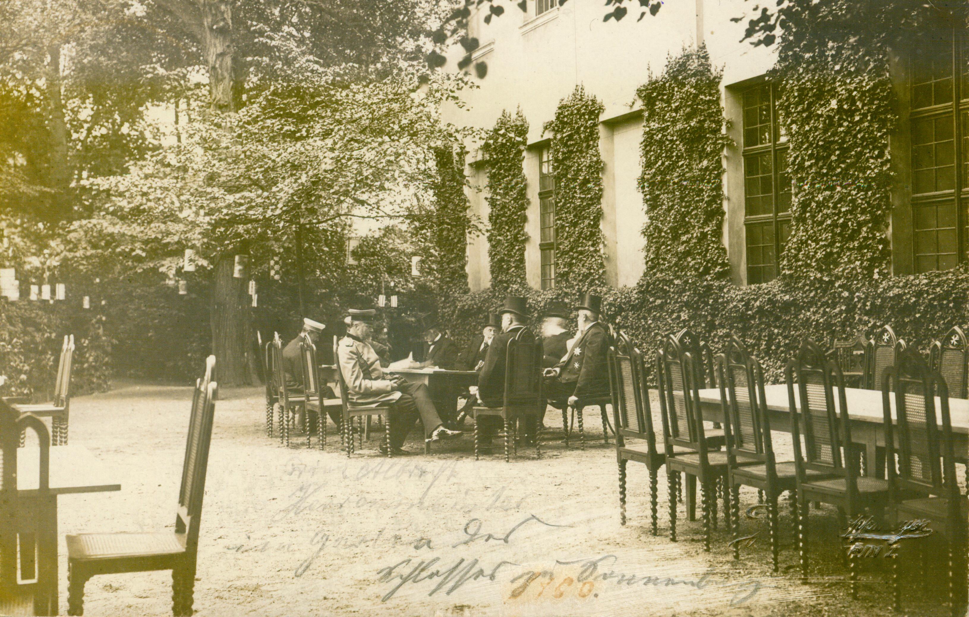 Słońsk-wizyta Wilhelma II 1900,1