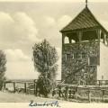 Santok- wieża na miejscu zamku