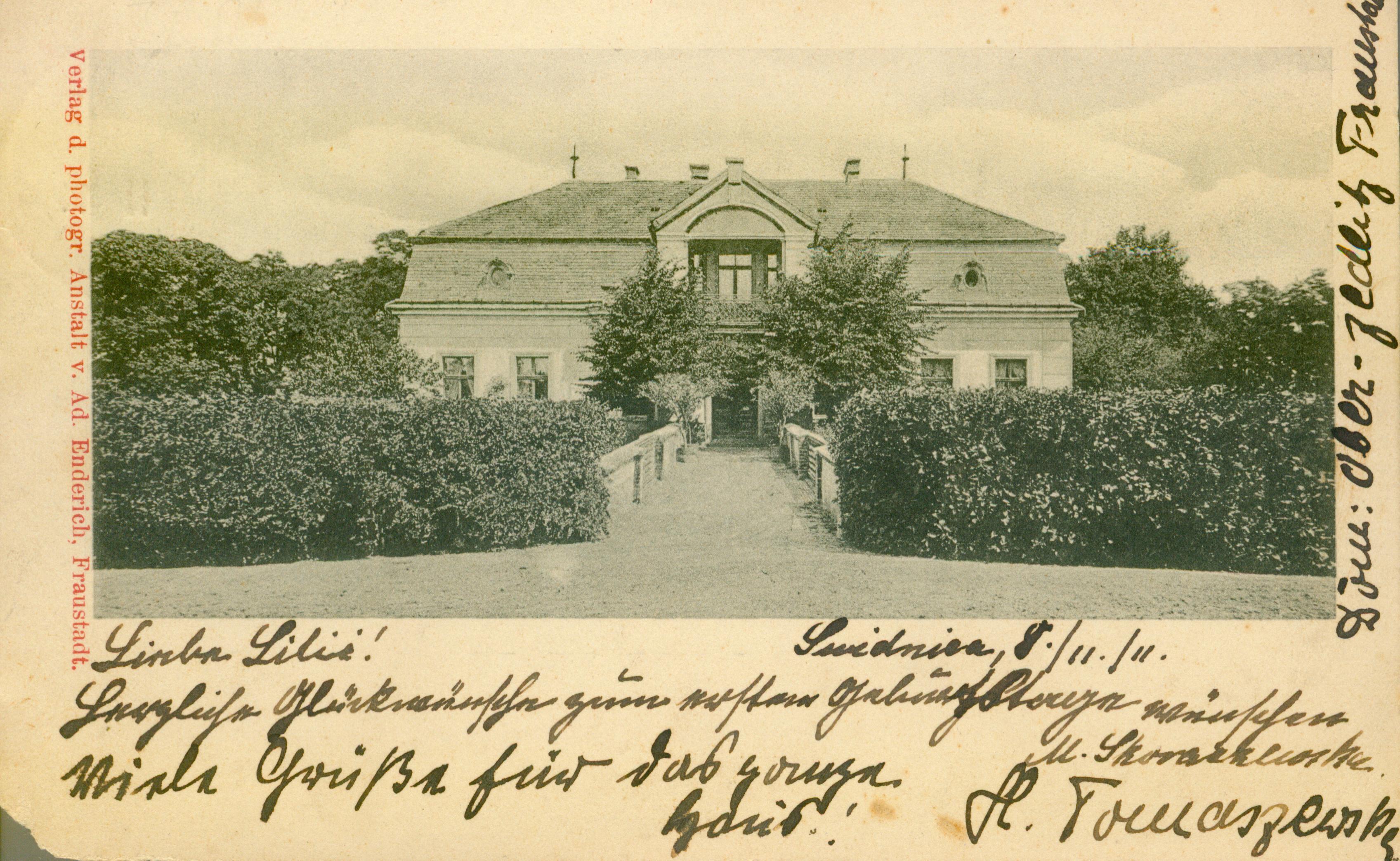 Siedlnica Górna k. Wschowy, lubuskie