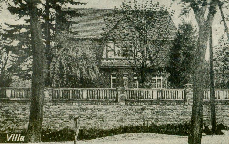 Sieniawa Lubuska-willa