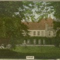 Smardzewo- pałac, widok od parku