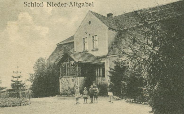 Stara Jabłonna- pałac w Starej Jabłonnej Niższej