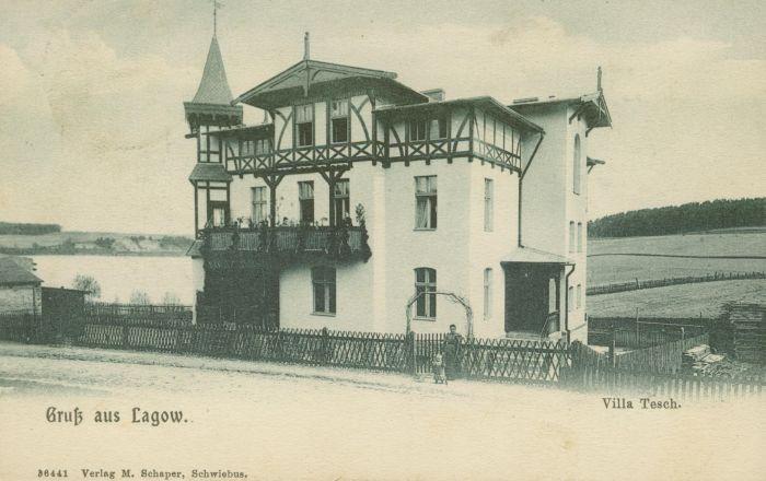 Łagow - willa Tesch