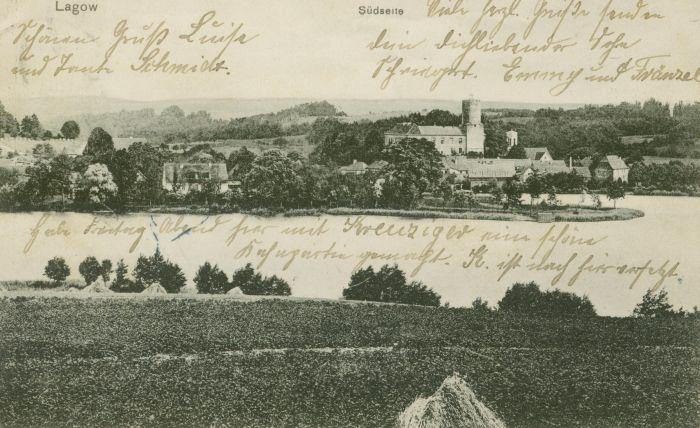 Łagow- zamek i jezioro003