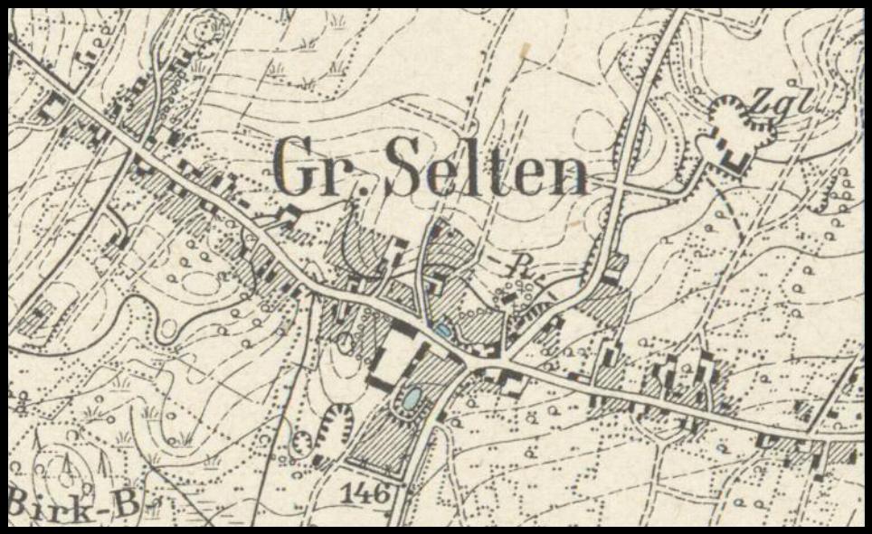 Straszów 1901, lubuskie zachód