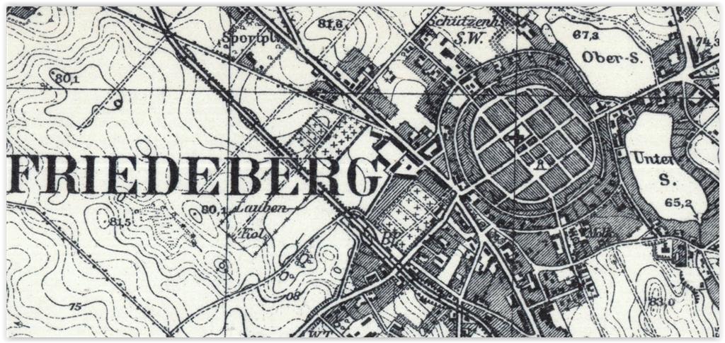 Strzelce Krajeńskie 1934, lubuskie