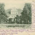 Studzieniec- widok pałacu od strony parku