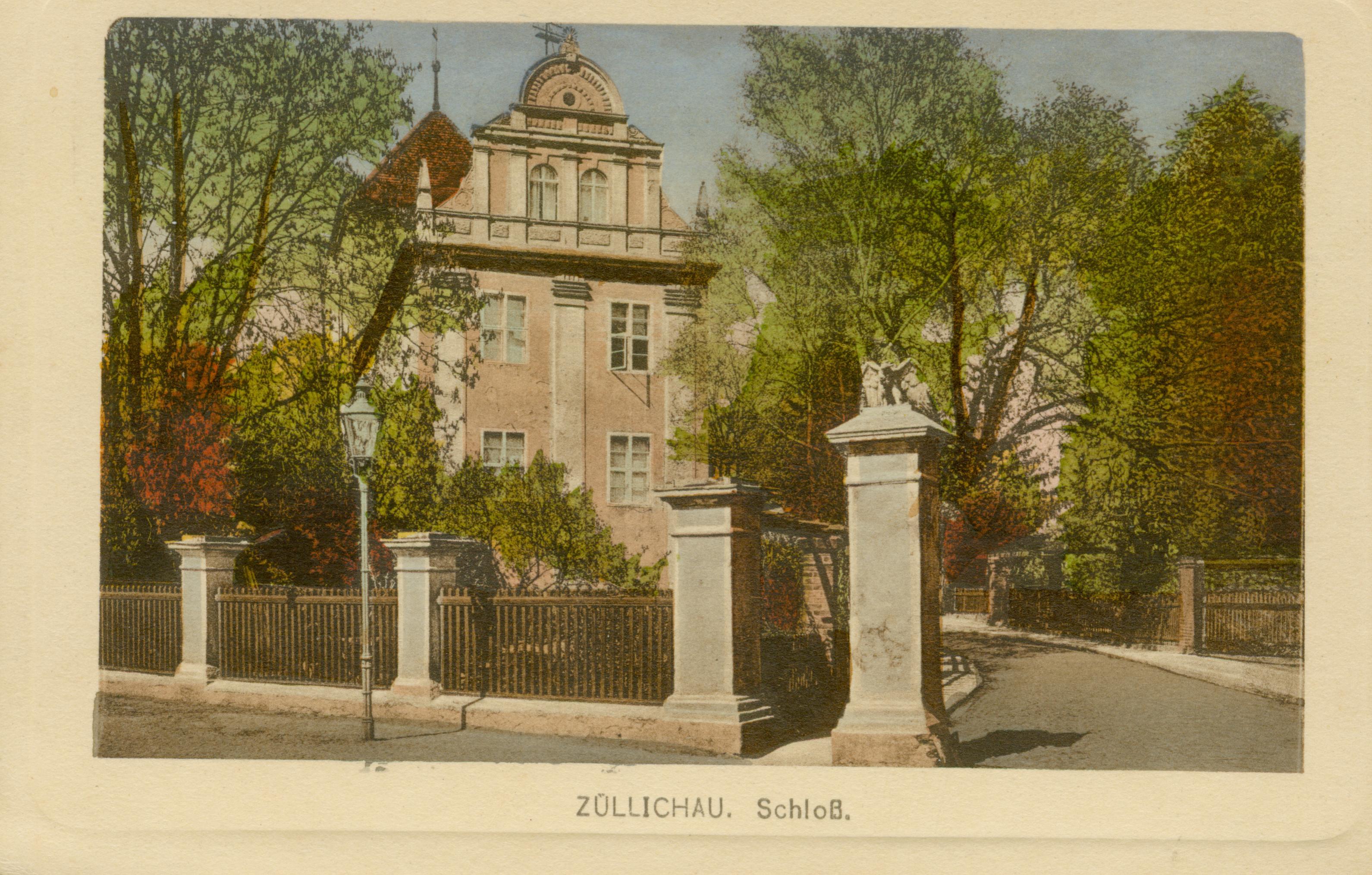 Sulechów-wjazd do zamku