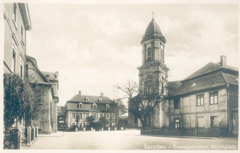 Szprotawa- kościół ewangelicki