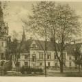 Toporów- pałac od strony parku