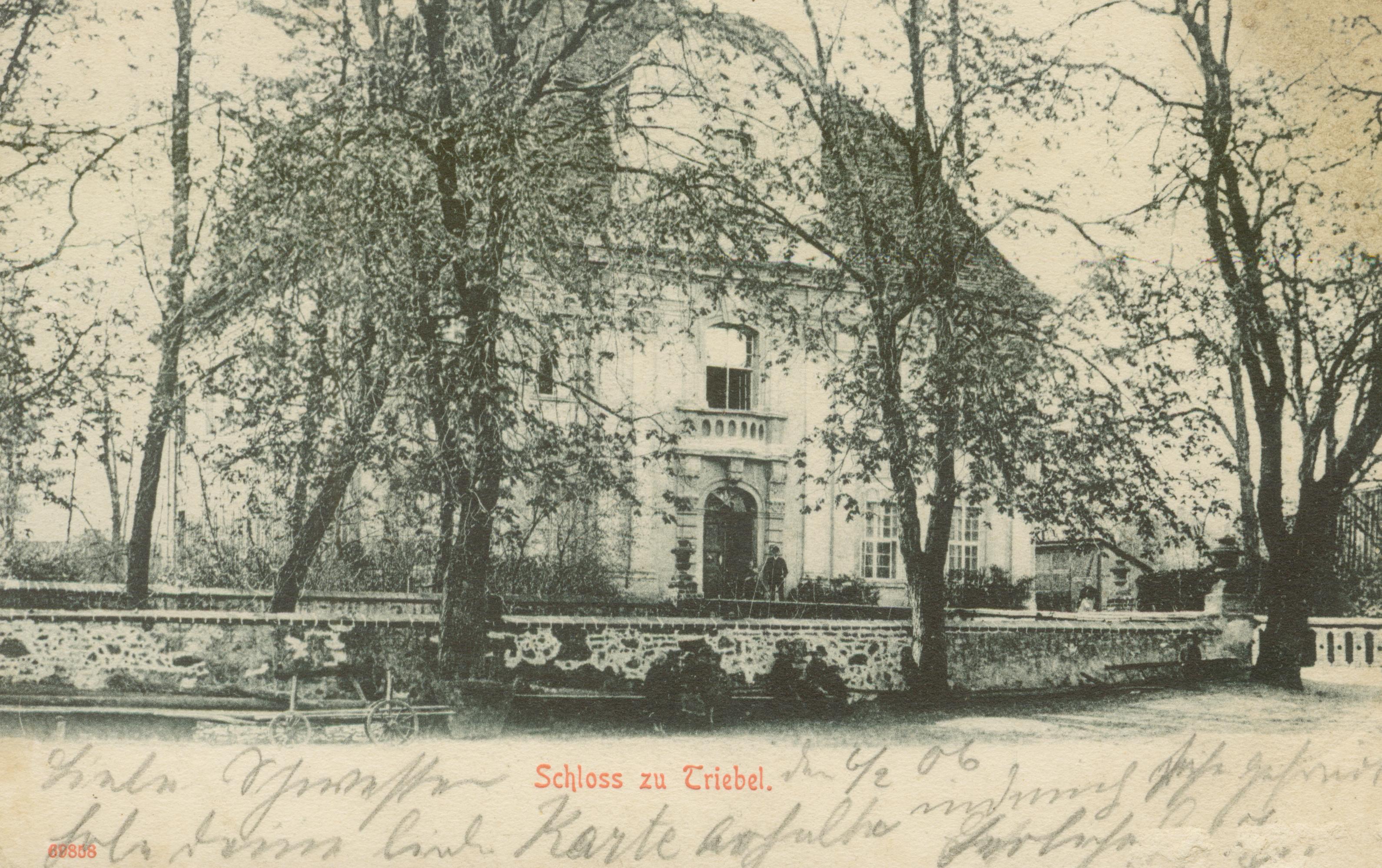Trzebiel- pałac