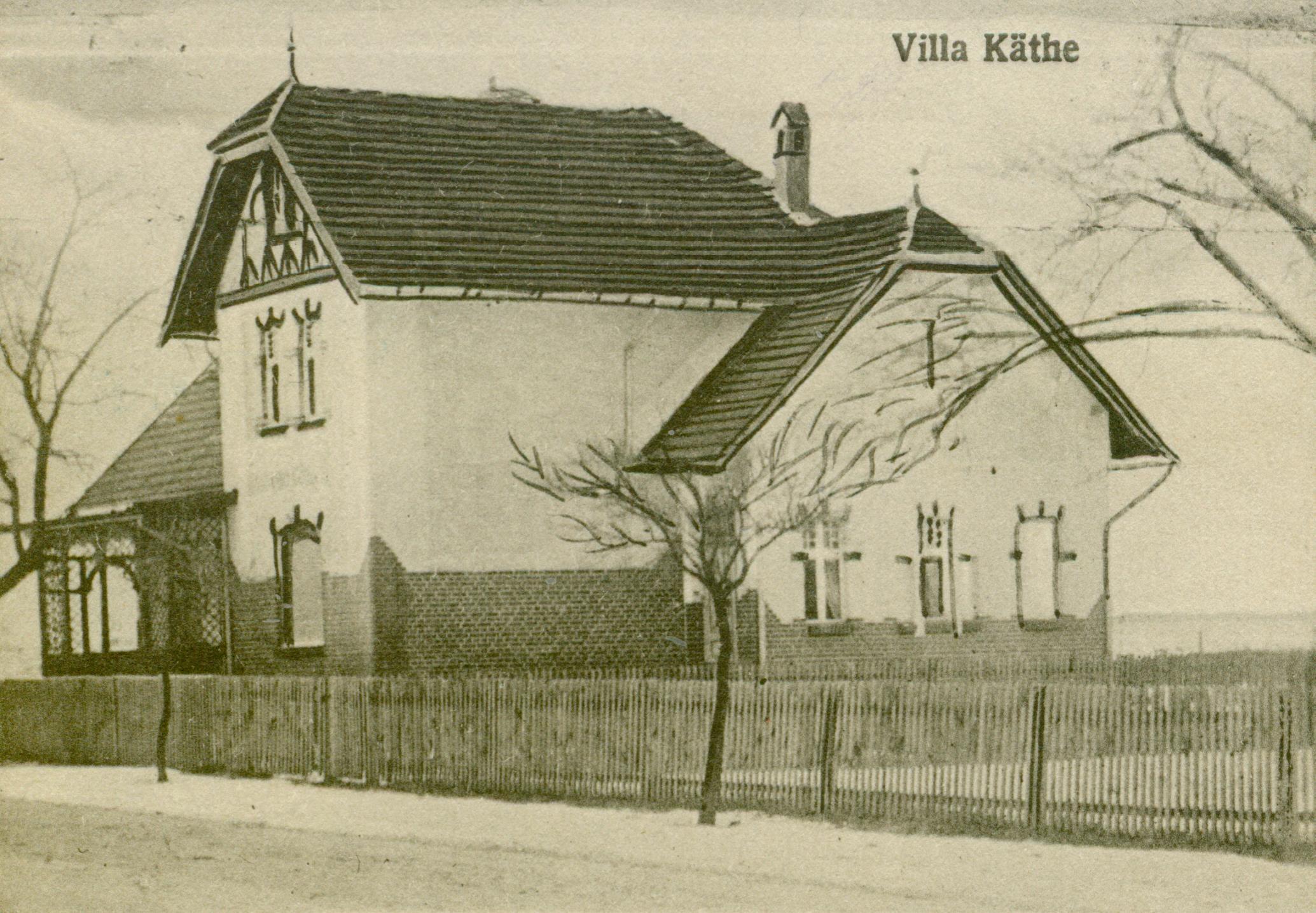 Trzebiel- willa Kathe
