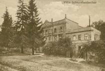 Wichów- willa(pałac) Schwenkenbecher