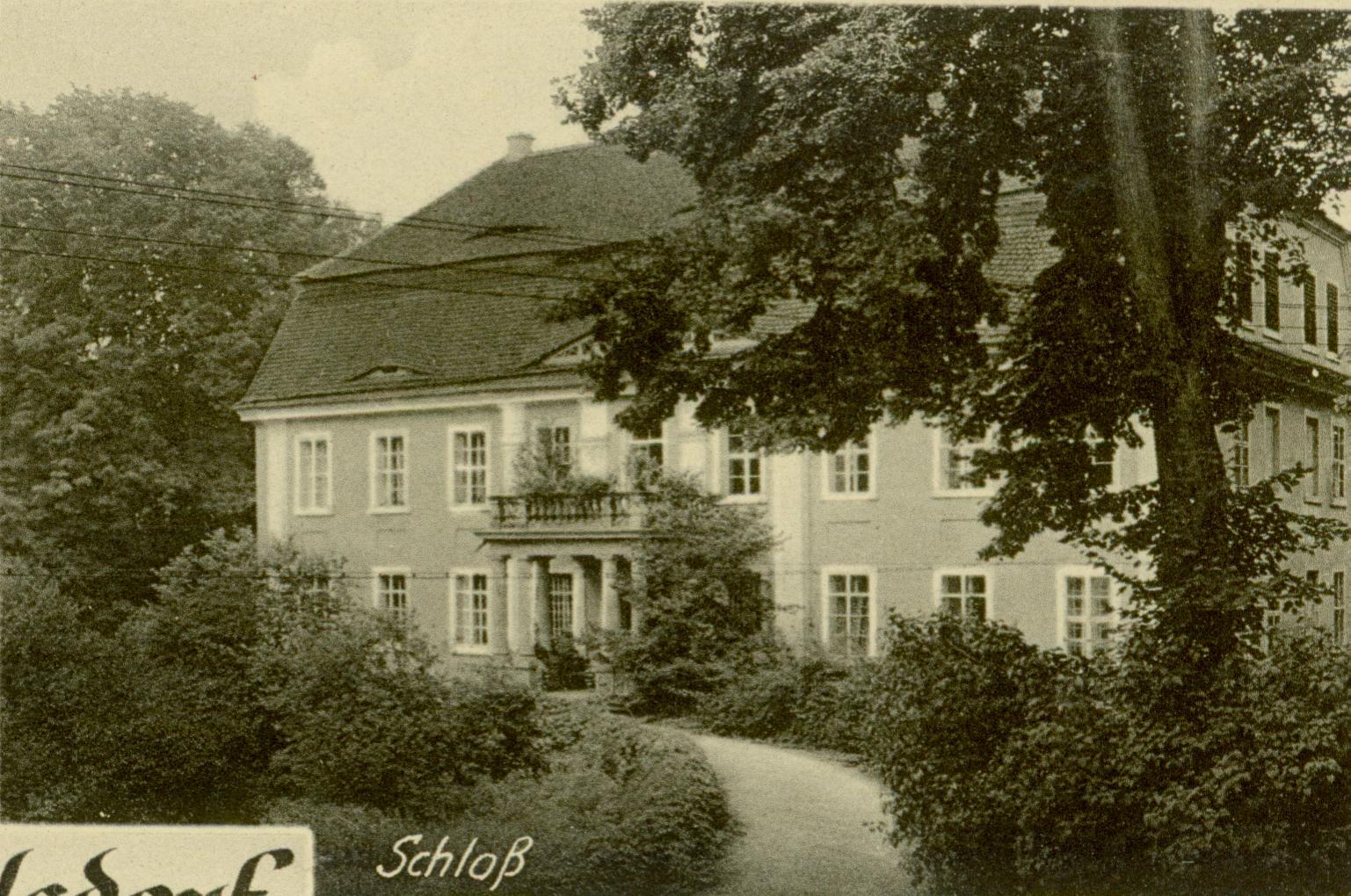 Wiechlice- pałac