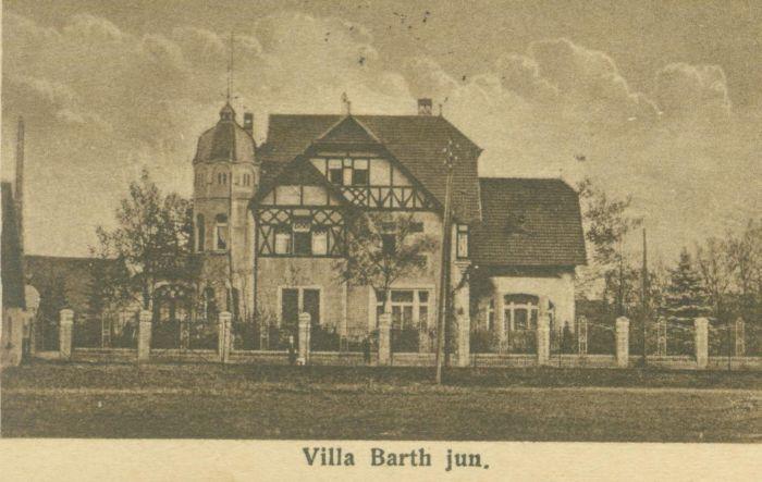 Wymiarki- willa Barth jun.