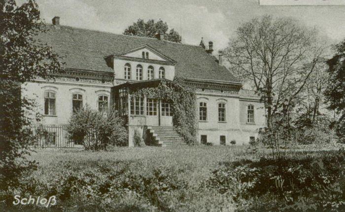 Zimna Brzeźnica- nowy pałac