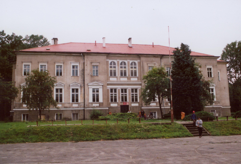 Benice- pałac częśc ogrodowa
