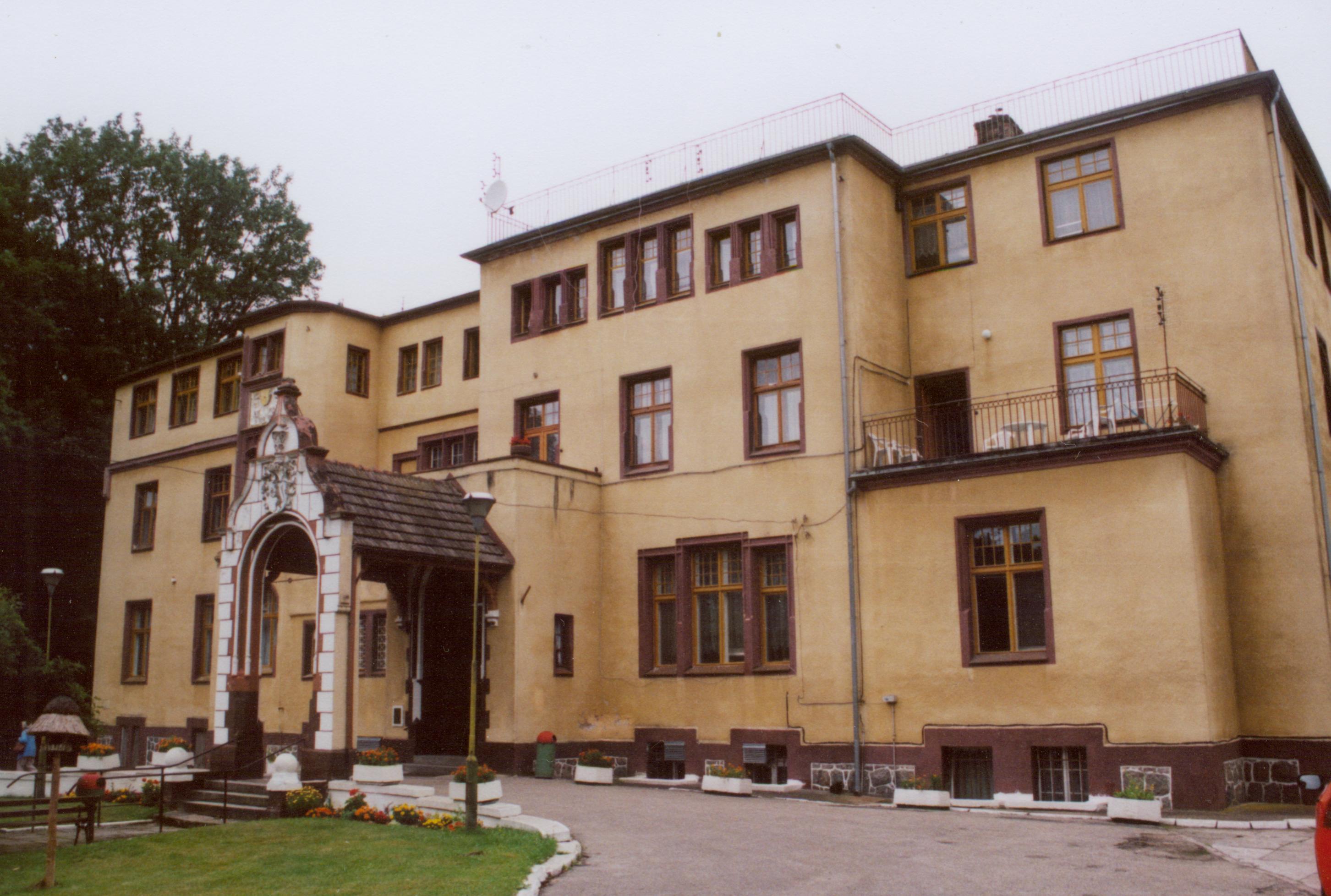 Śniatowo- pałac od frontu