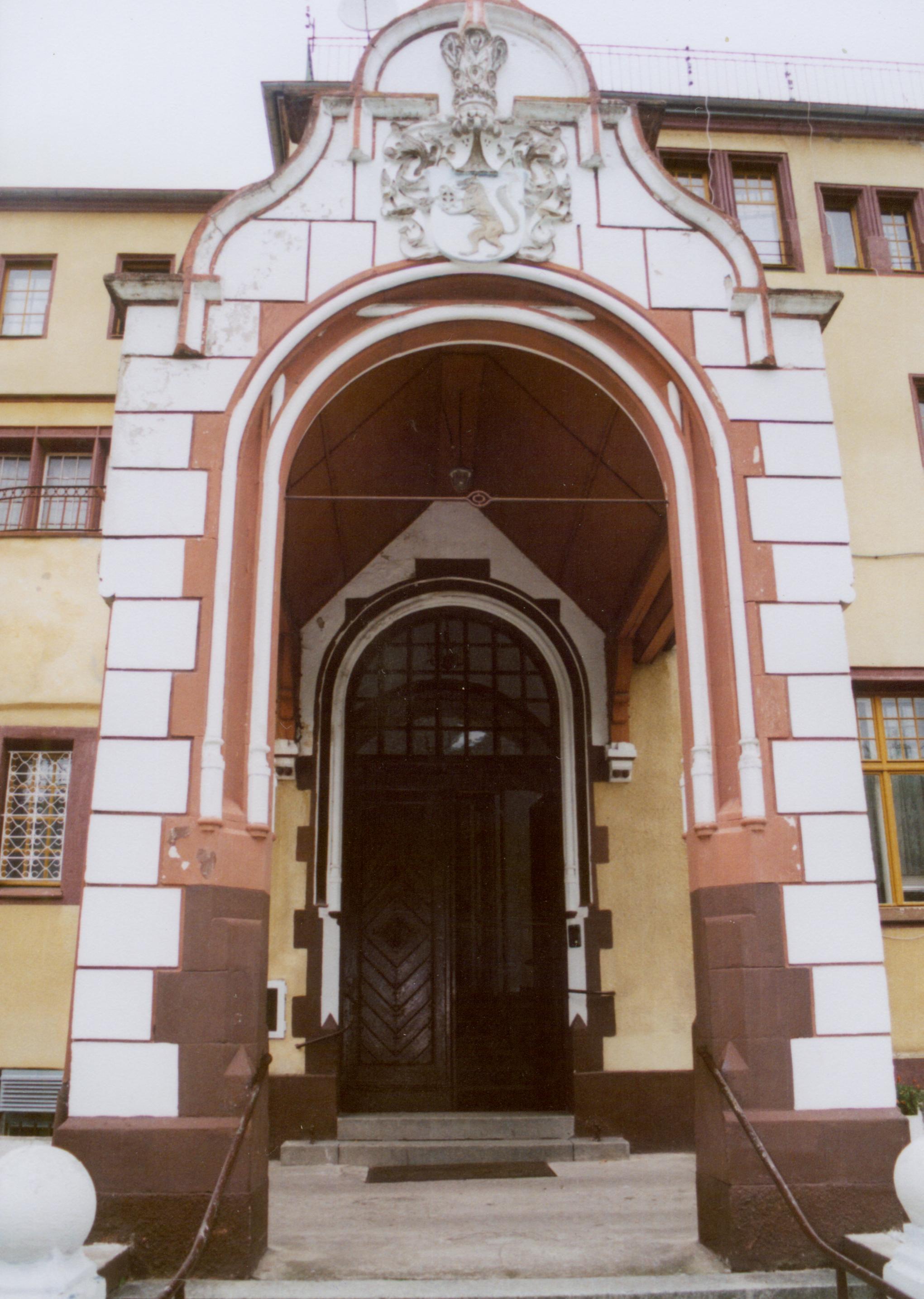 Śniatowo-wejście do pałacu