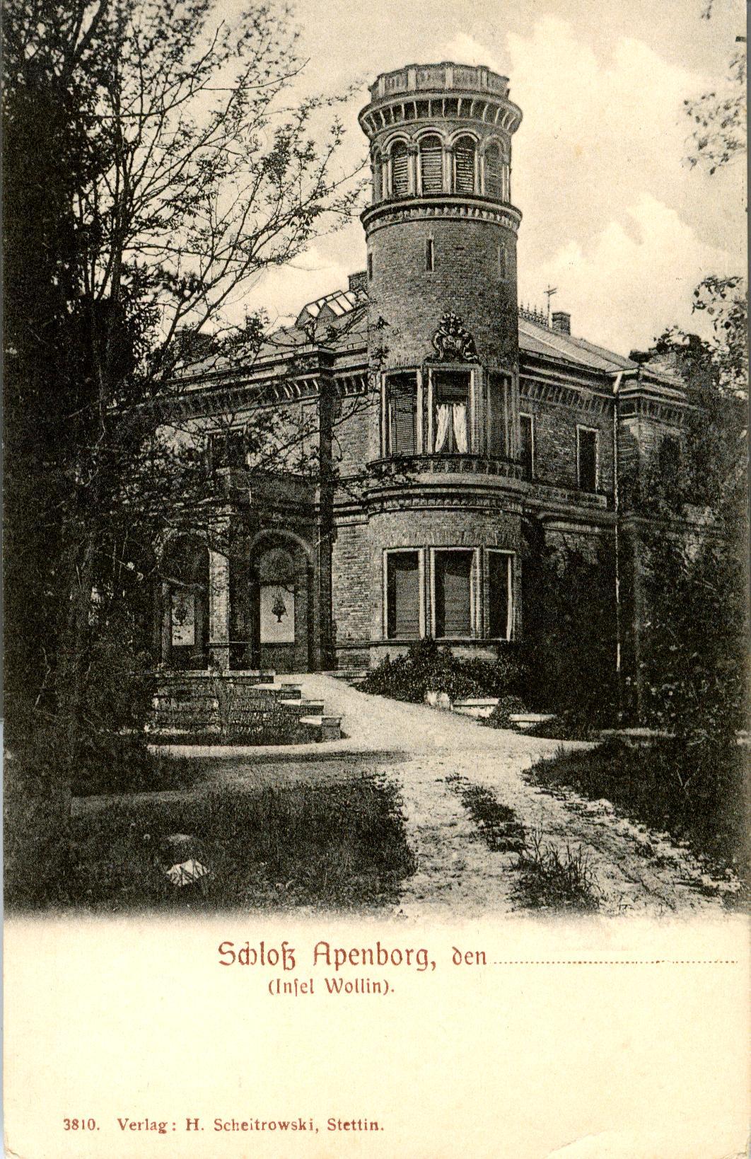 Dargobądź-zamek Apenborg
