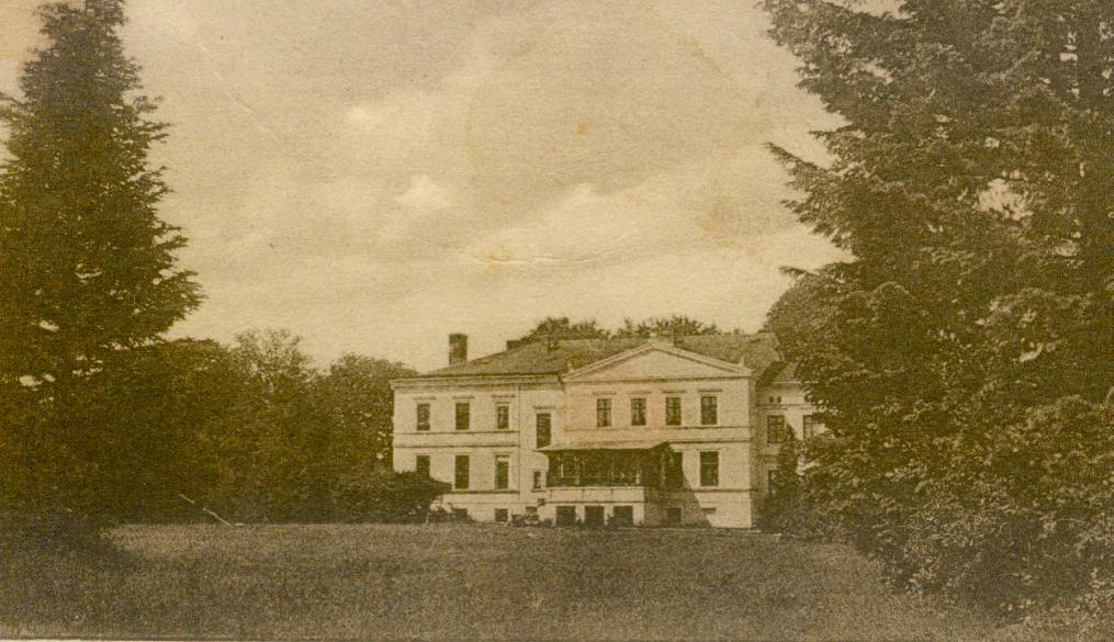 Klępczewo-pałac od parku