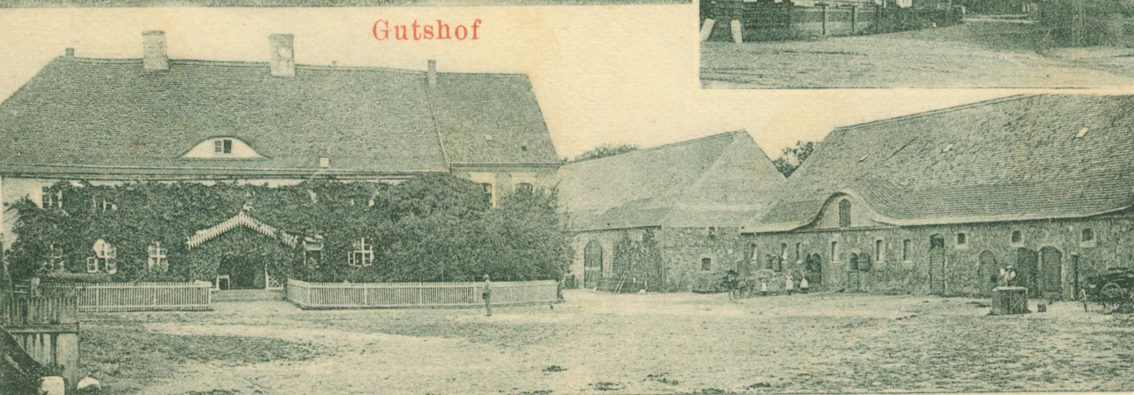 Lubiechów Górny-dwór i folwark