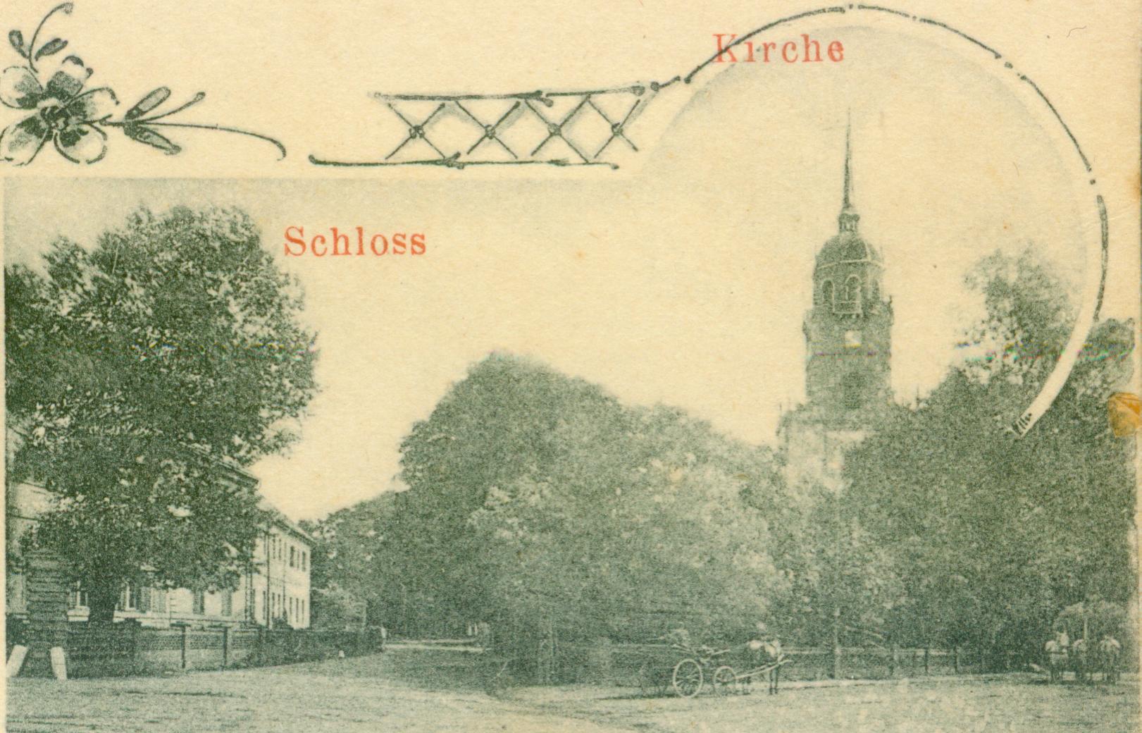 Lubiechów Górny-pałac