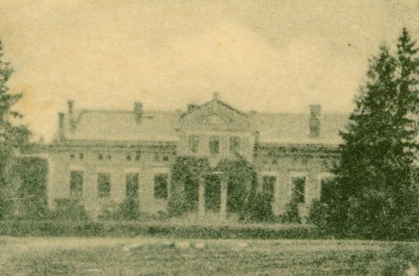 Lubogoszcz pałac