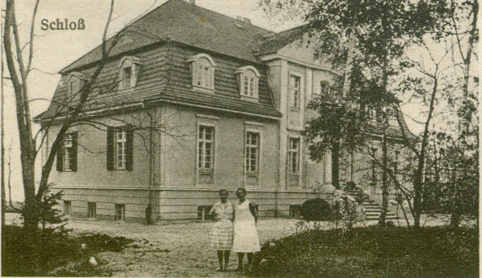 Mierzęcin- pałacyk mysliwski von Flemmingów