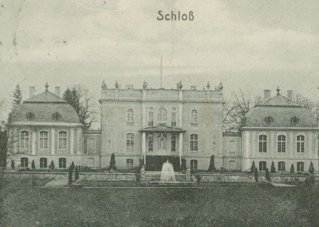 Sarnik k. Płonna-Barlinka- pałac