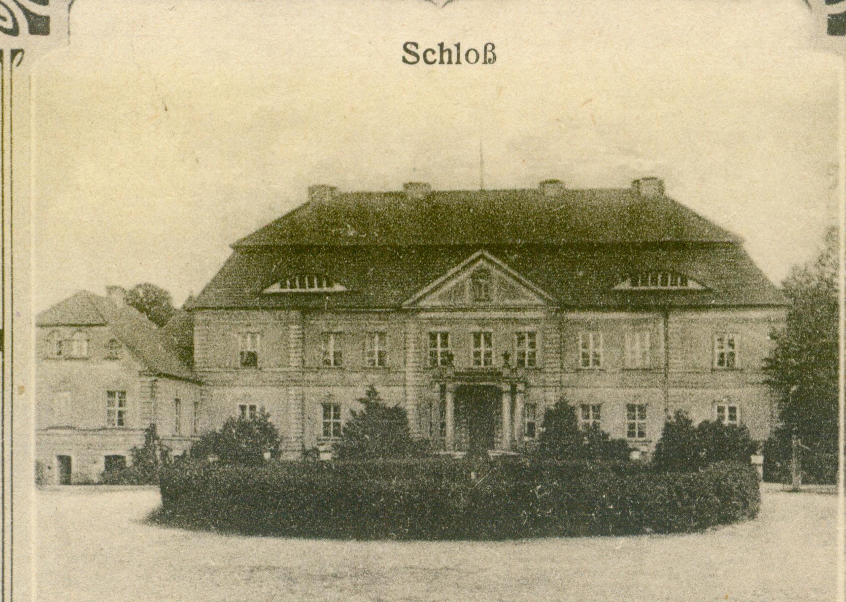 Siemczyno- pałac od frontu