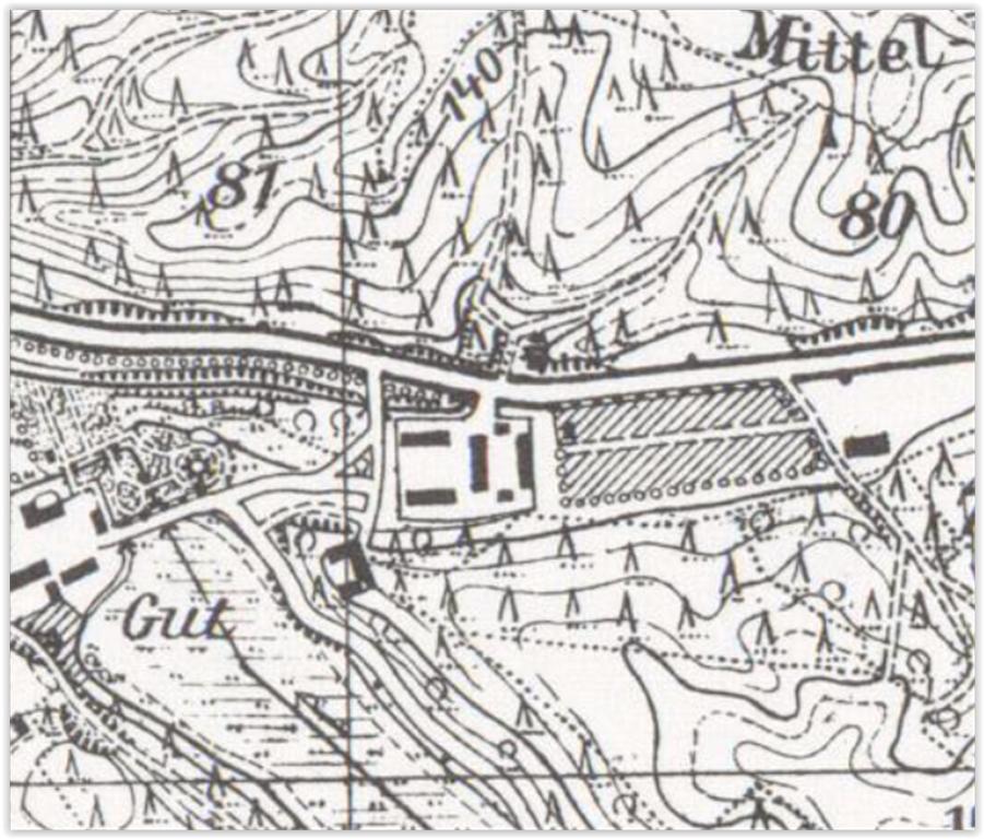 Chocimino wschód 1935, zachodniopomorskie
