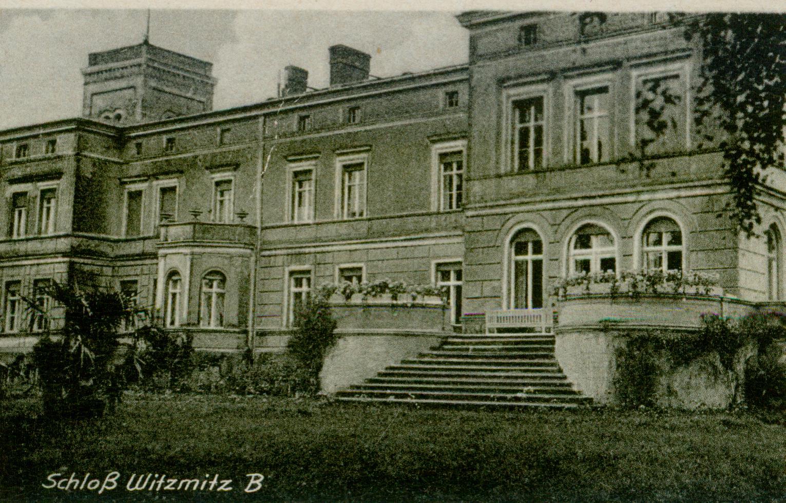 Wicimice- pałac B
