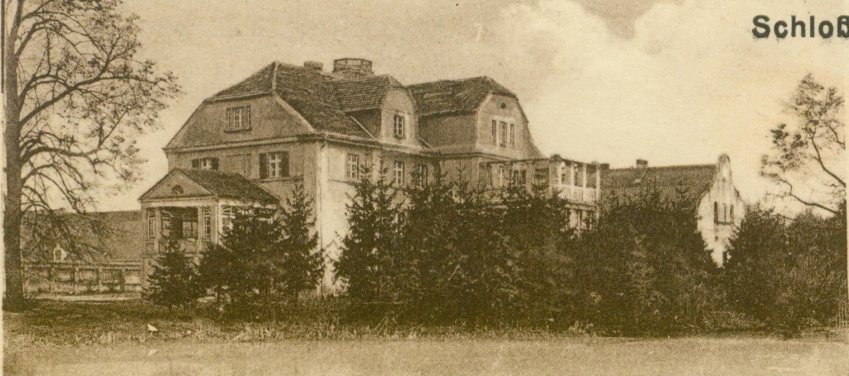 Bobrówko-pałac