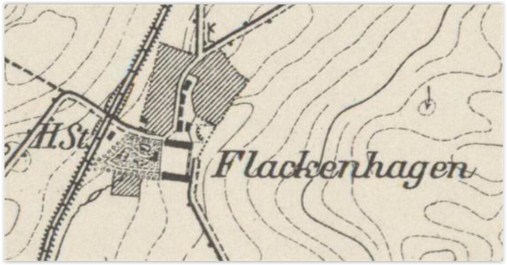 Flackenhagen Vw. 1891, zachodniopomorskie