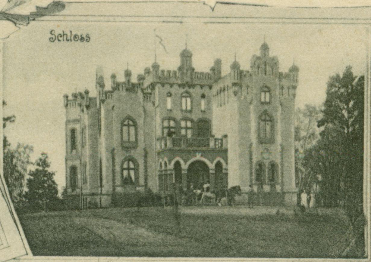 Wałowice-pałac
