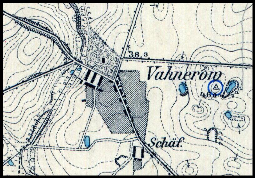 Waniorowo 1929, zachodniopomorskie
