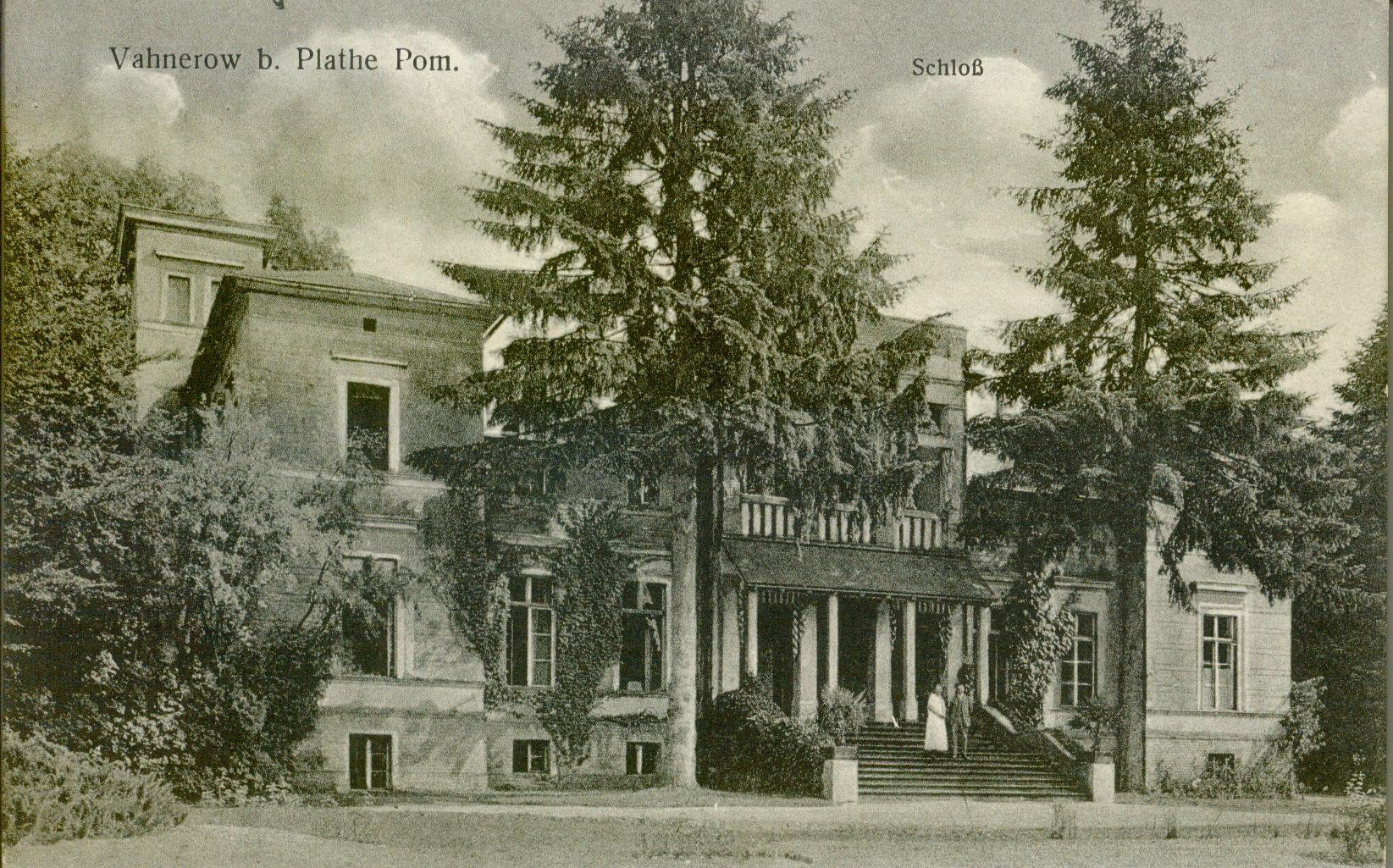 Waniorowo pałac zachodniopomorskie
