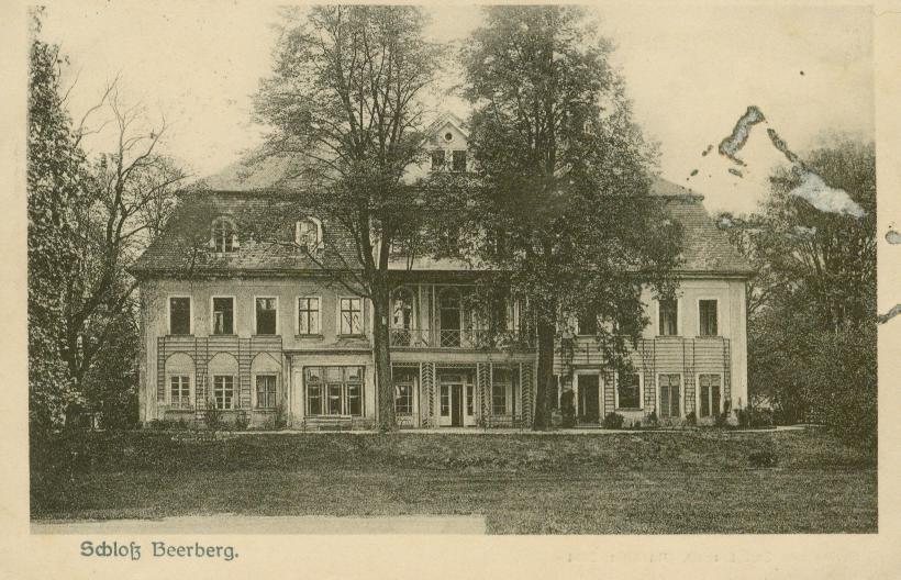 Baworowa- pałac ok. Lubania Śl.