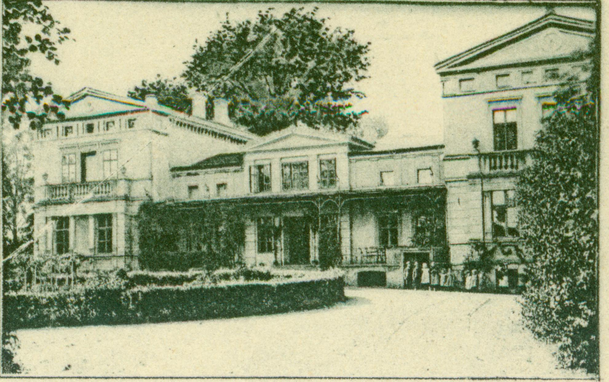 Bełcz Wielki-pałac