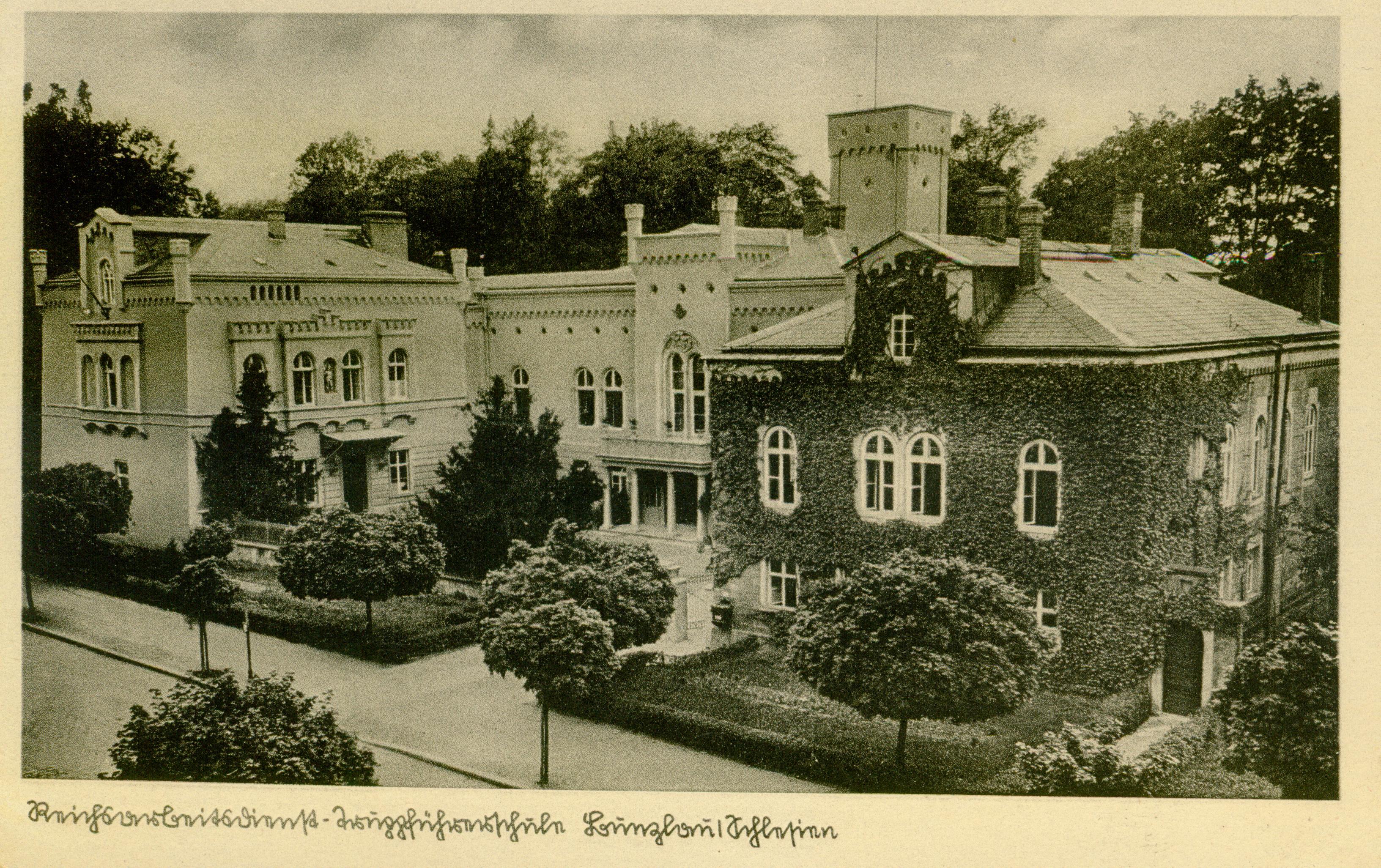 Bolesławiec- pałacyk hr.Pucklera z 1857r.,dolnośląskie
