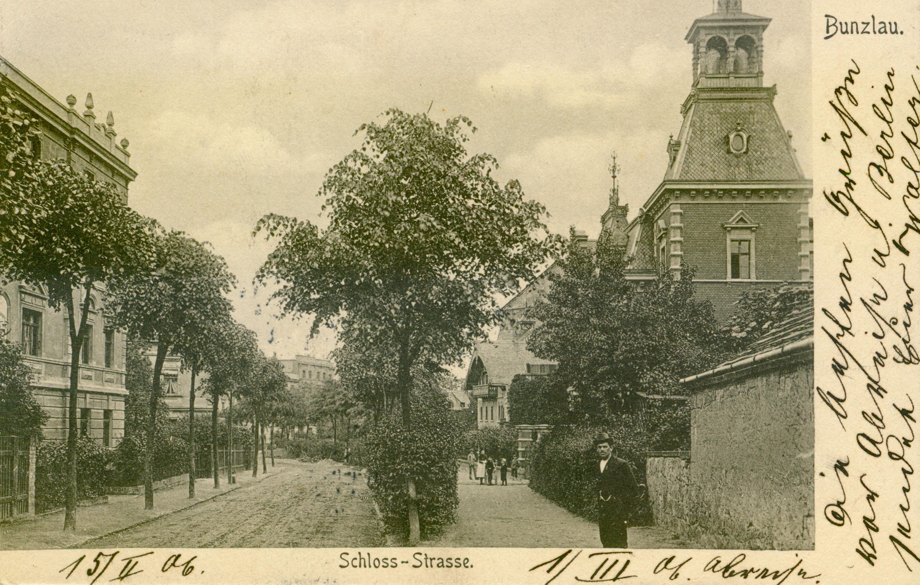 Bolesławiec- ul. Zamkowa, dolnośląskie