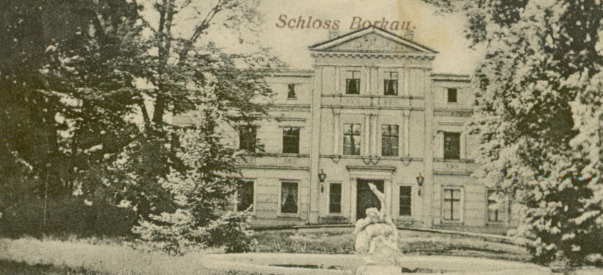 Borków- pałac, ok. Głogowa