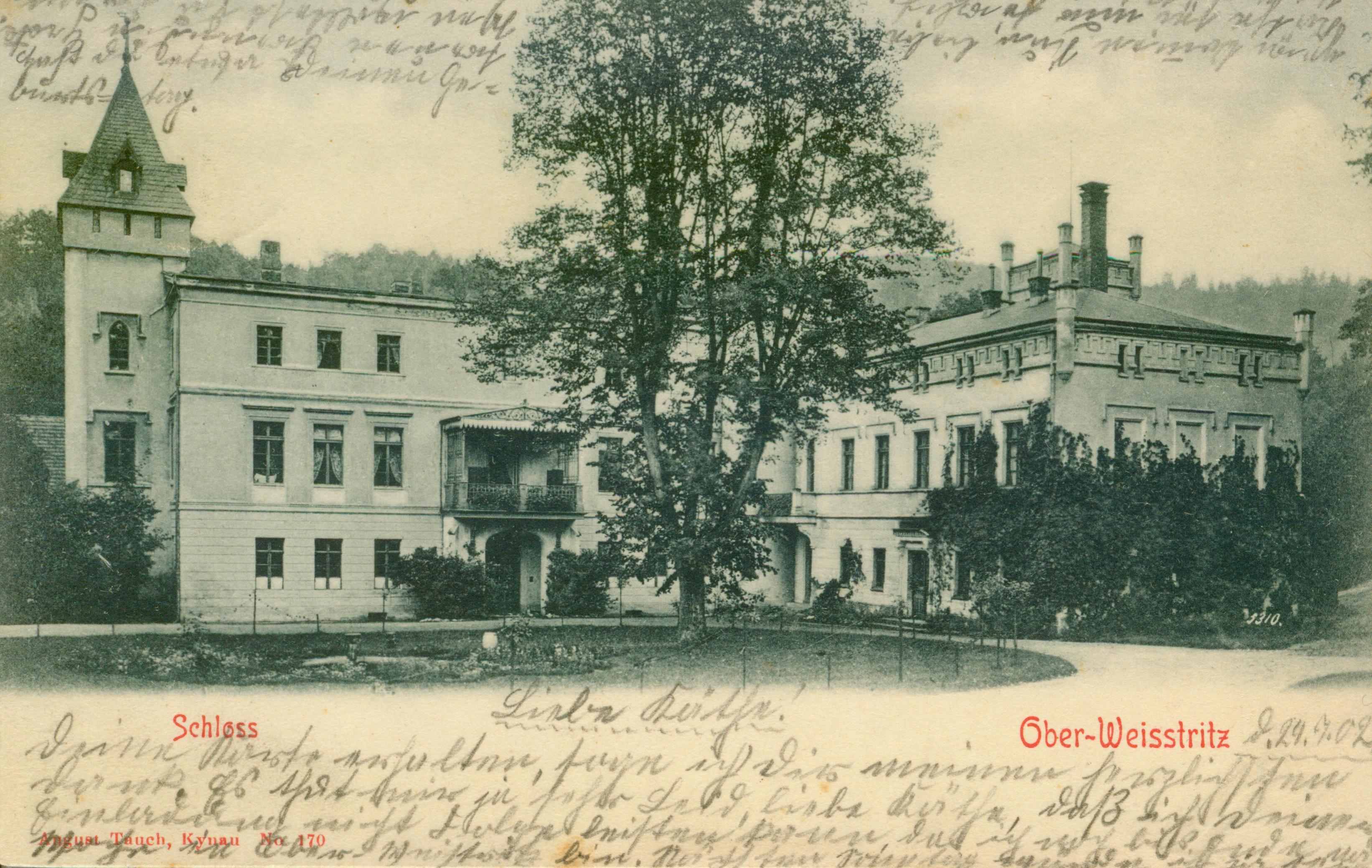 Bystrzyca- na płd od Świdnicy, ok. zamku Grodno, dolnośląskie