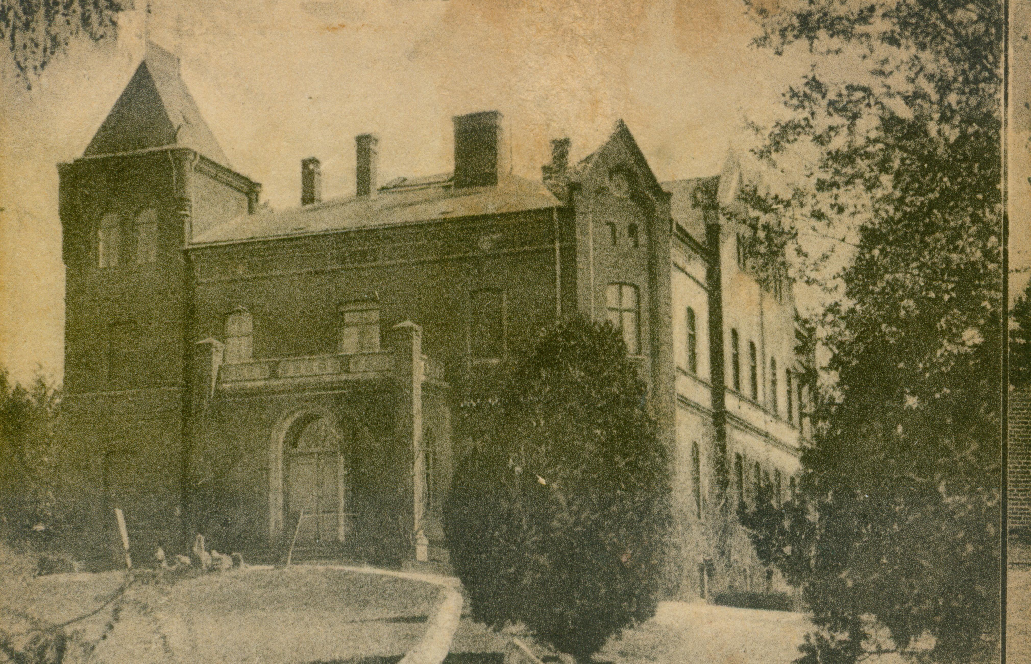 Żuków Pyrzycki pałac