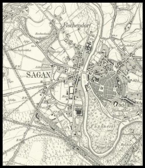 Żagań 1939, lubuskie