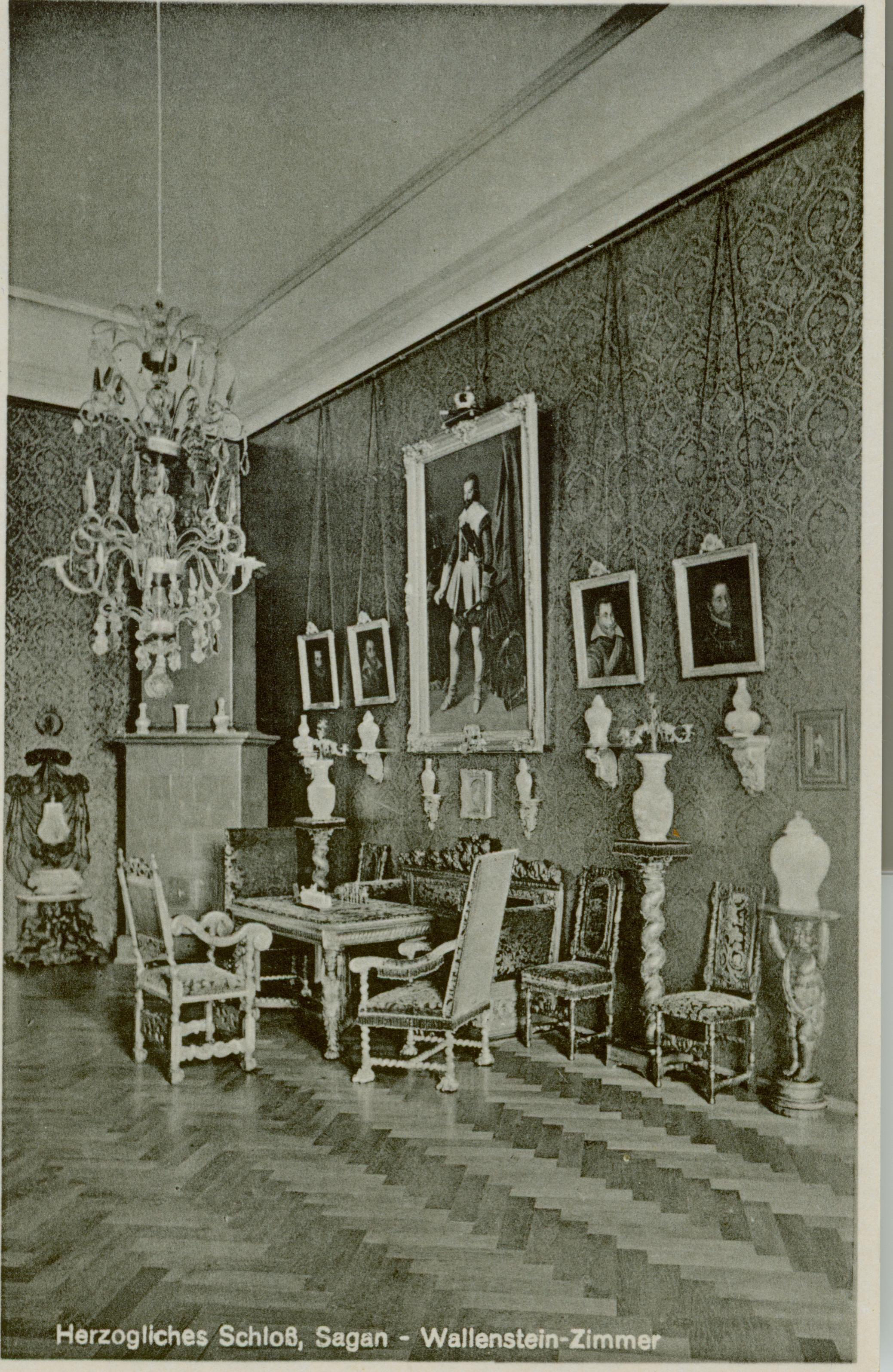 Żagań- pokój Wallensteina