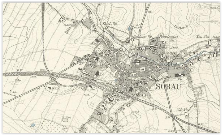 Żary 1901, lubuskie