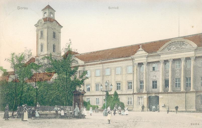 Żary-pałac Promnitzów